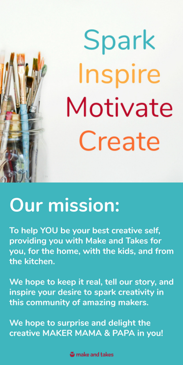 Make and Takes Mission Statement Pinterest