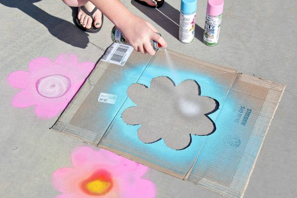 Get Outdoors This Spring With Spray Chalk