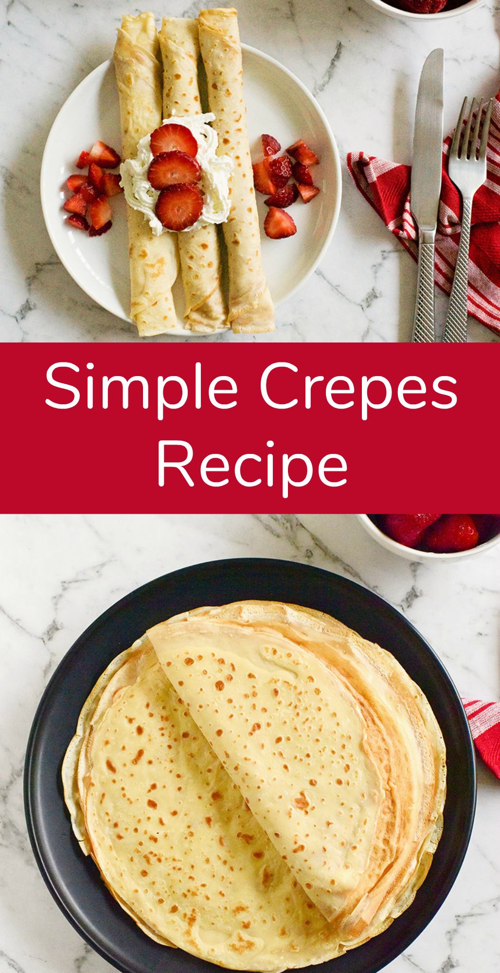 Make this Simple Crepes Recipe for Breakfast