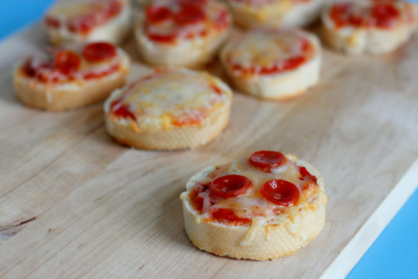 cheesy pizza bites