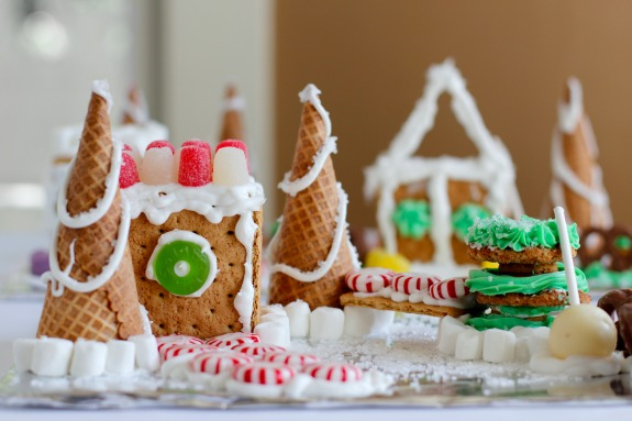 Making Candy Houses with Kids