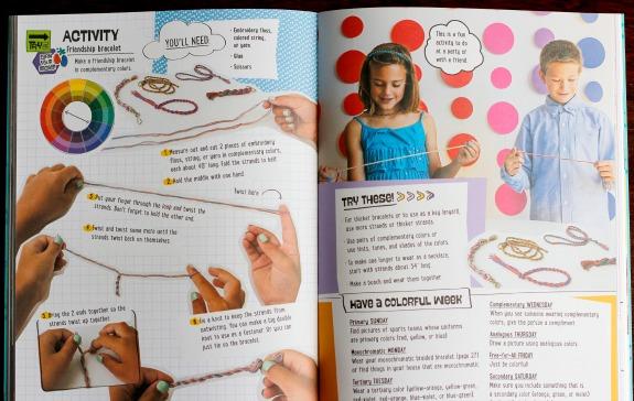 Making Colorful Kids Crafts