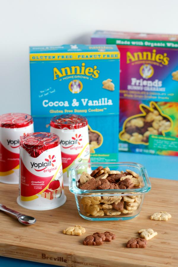 Making Frozen Yogurt Bunny Bites