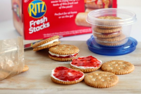 Making Kids Lunch with Ritz Fresh Stacks Snacks