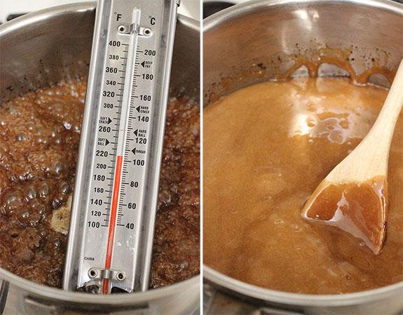 Cooking Salted Caramel Cashew Popcorn