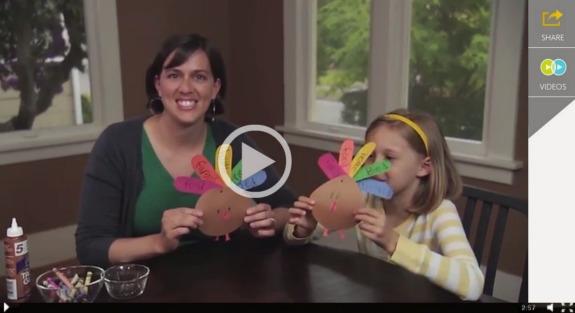 Making Thankful Turkeys makeandtakes.com