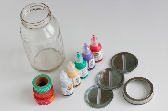 Mason Jar Money Bank Supplies