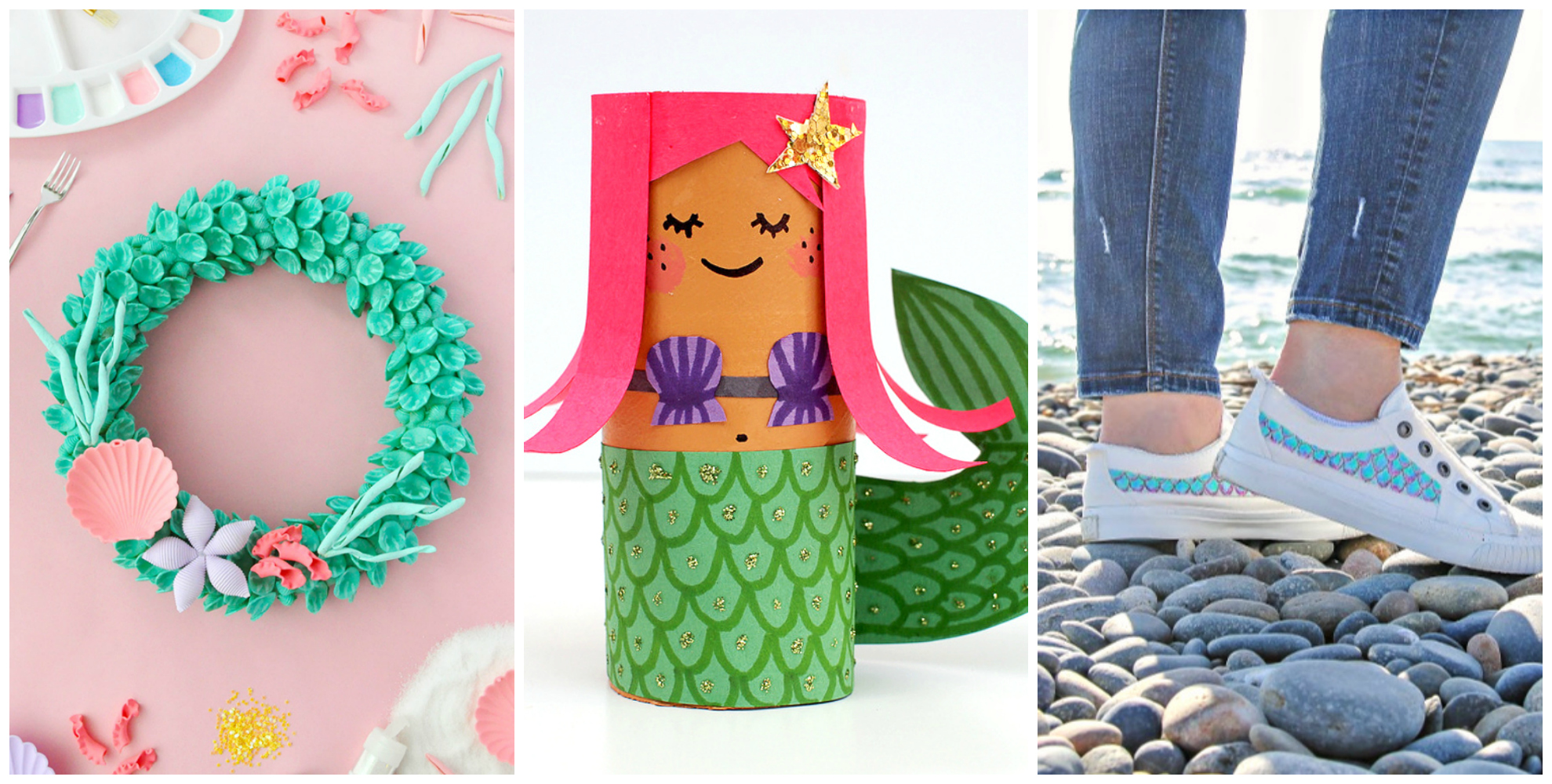 Mermaid Crafts for Kids