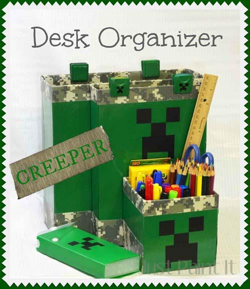 Creeper Desk Organizer