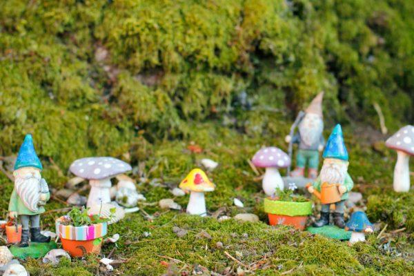Mini Fairy Garden Flower Pots