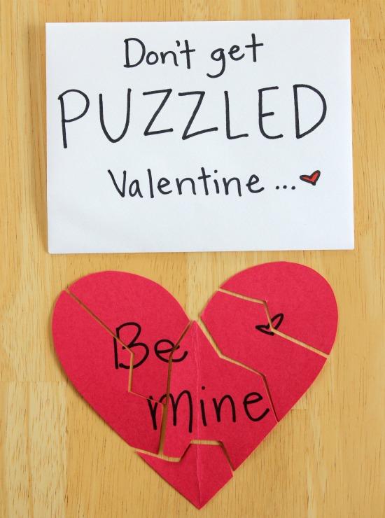 Don't Get Puzzled, Valentine