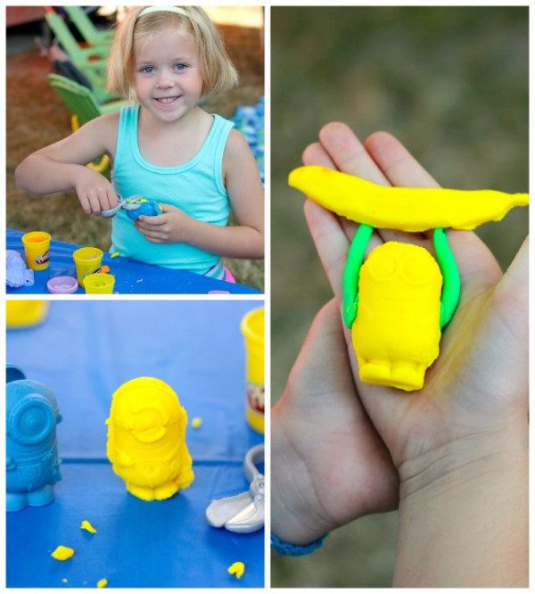Minions Play-Doh Craft Table