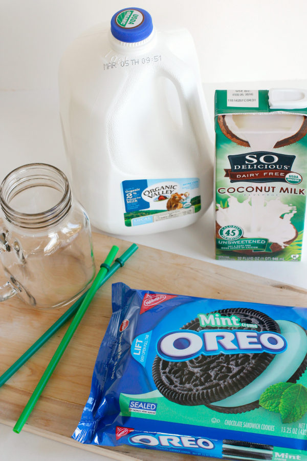 Mint Oreo Smoothies Ingredients