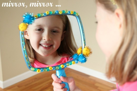 Mirror Mirror Snow White Craft