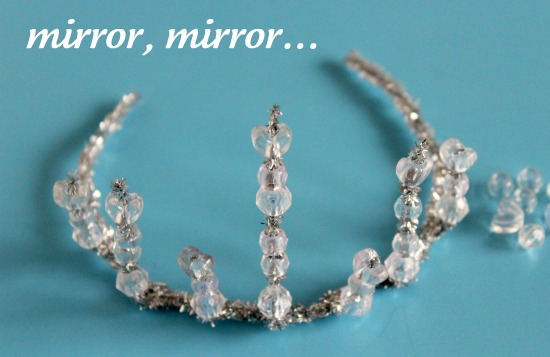 Mirror Mirror Snow White Crown Craft
