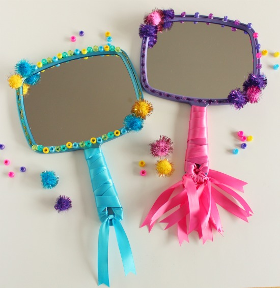 Mirror mirror snow white craft make and takes for Fun crafts for girls