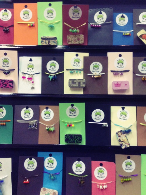 Miss Purl Stitch Markers and Notion Tins