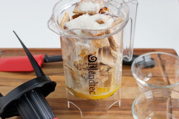 Mixing Homemade Graham Cracker Crust