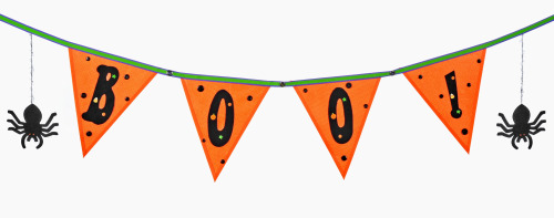 Mod Podge Halloween Banner | Make and Takes