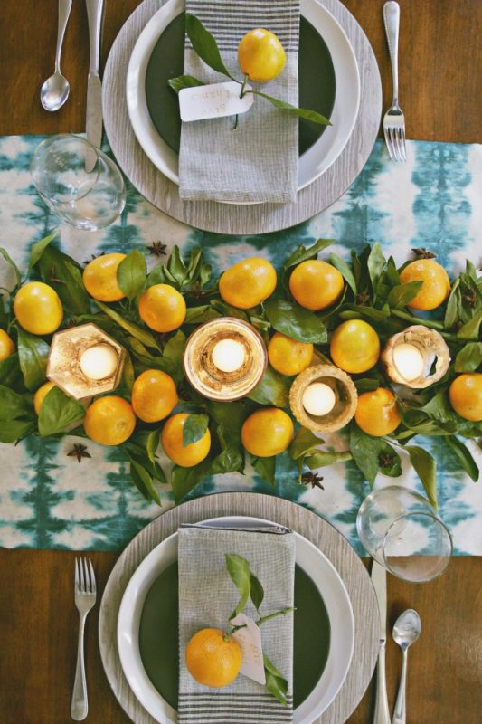 A Modern Thanksgiving Table