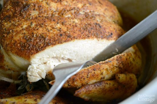 Rotisserie Style Spiced Whole Chicken