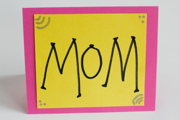 Mom Wow Card for Mother's Day