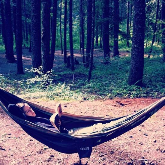 Mom hammock