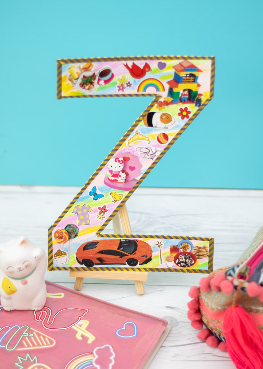 Monogram Letter Magazine Collage Make And Takes