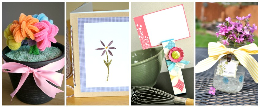 Mother's Day Gifts to Make and Give