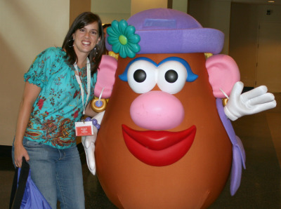 Mrs. Potato Head BlogHer