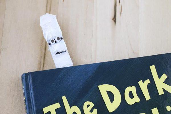Mummy Craft Stick Bookmark