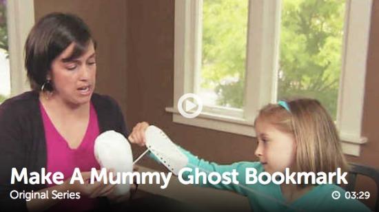 Mummy Ghost Craftspiration makeandtakes.com