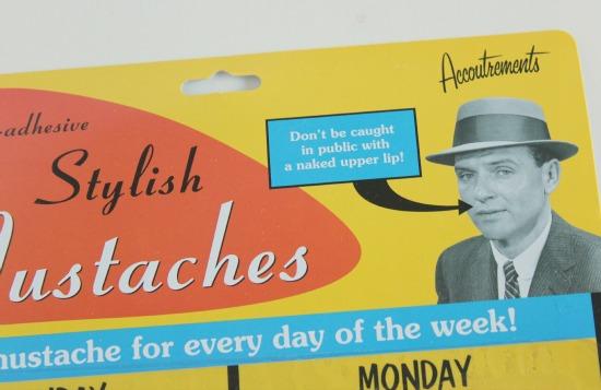 Mustache stickers 2