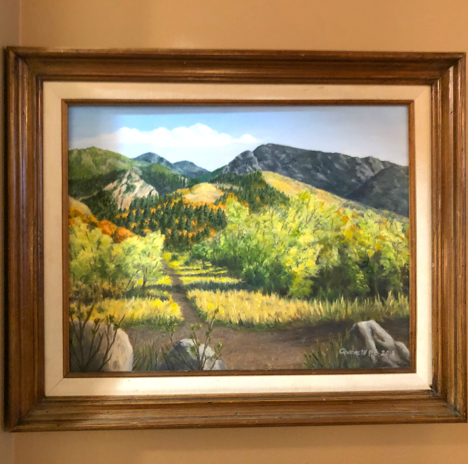 Neff's Canyon Oil Painting