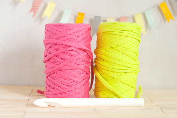 Neon Crochet Summer Clutch Supplies by Francine Clouden for Make and Takes