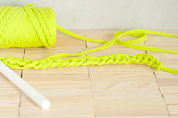 Neon Crochet Summer Clutch from T-shirt Yarn by Francine Clouden for Make & Takes-2
