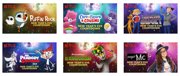 Netflix New Year's Eve Countdown #Streamteam
