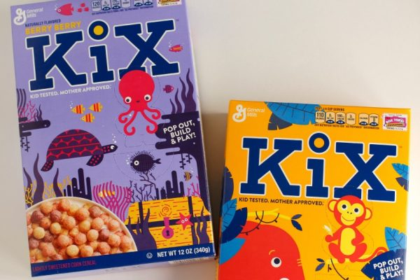 New KiX Cereal Pop Out Figures