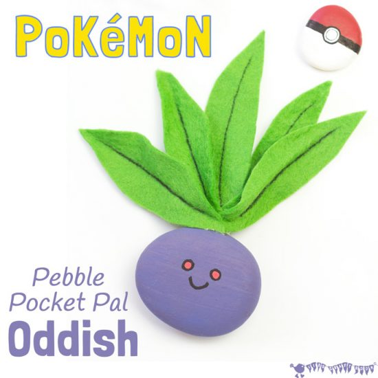 Oddish Pebble Pocket Pal