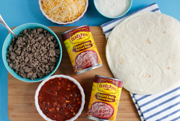 Old El Paso Refried Beans for Mexican Lasagna