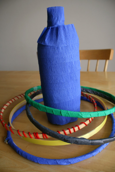 Make A Toss For The Olympic Ring Hoop Loop Make And Takes