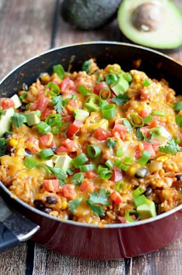 One-Pot-Chicken-Enchilada-Rice-6