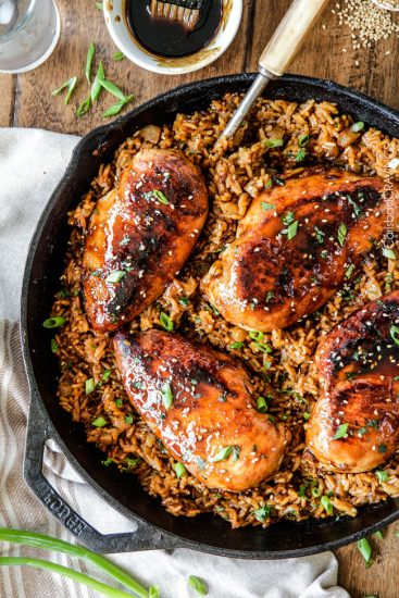 One-Pot-Teriyaki-Chicken-and-Pineapple-Rice-6