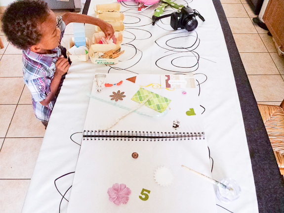 Open Ended Art With Kids by Francine Clouden for Make & Takes-10