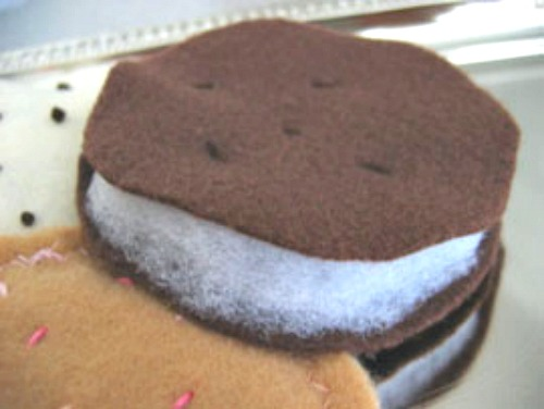 Oreo Felt Cookie for Kids