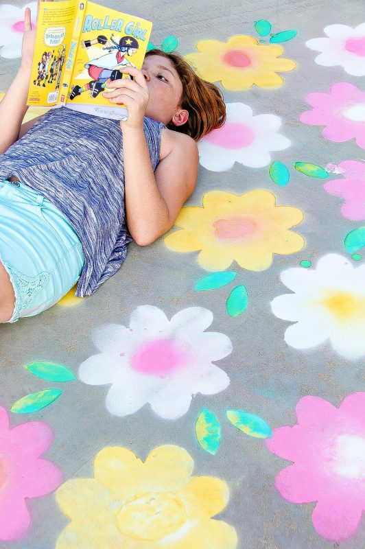 Spray Chalk DIY