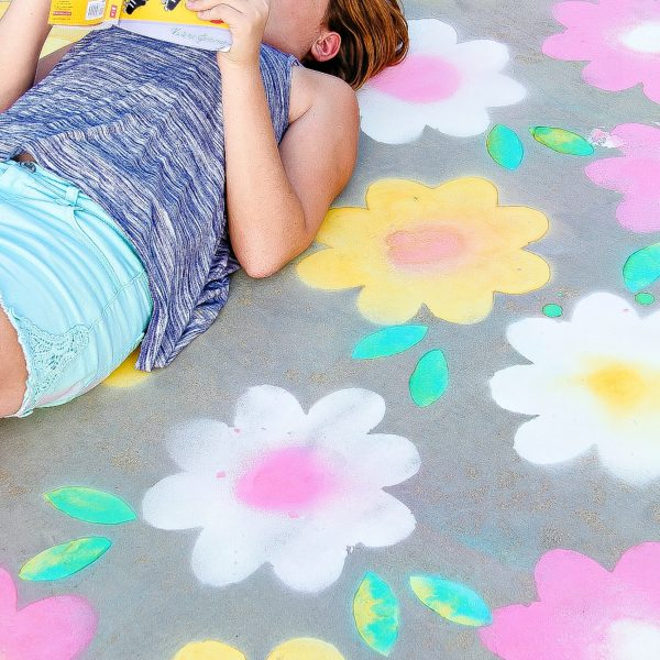 Spray Chalk for outdoor fun
