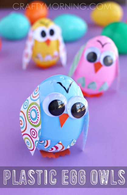 Egg Owl Craft For Kids
