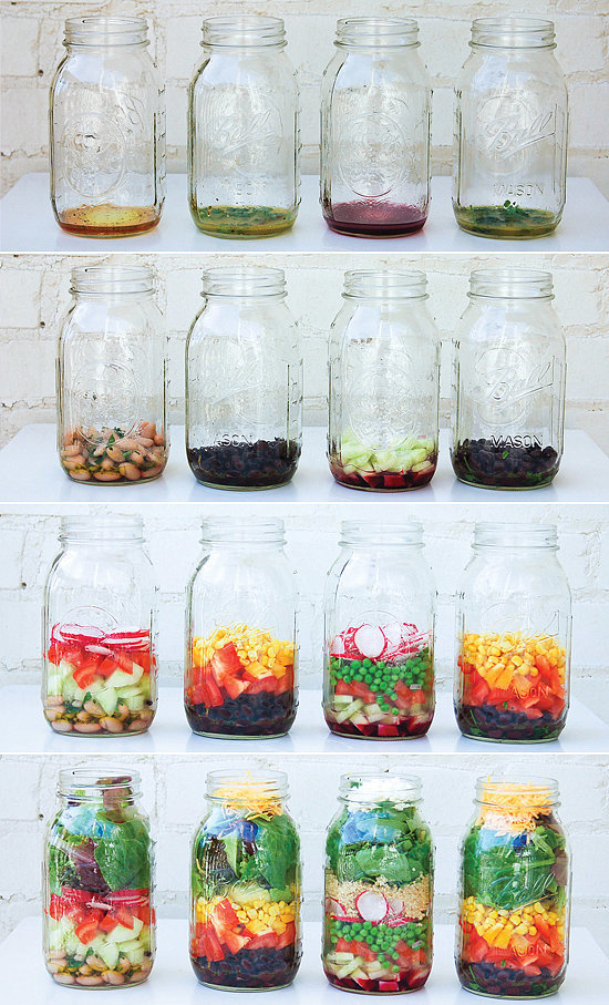 Pack the Perfect Mason Jar Salad