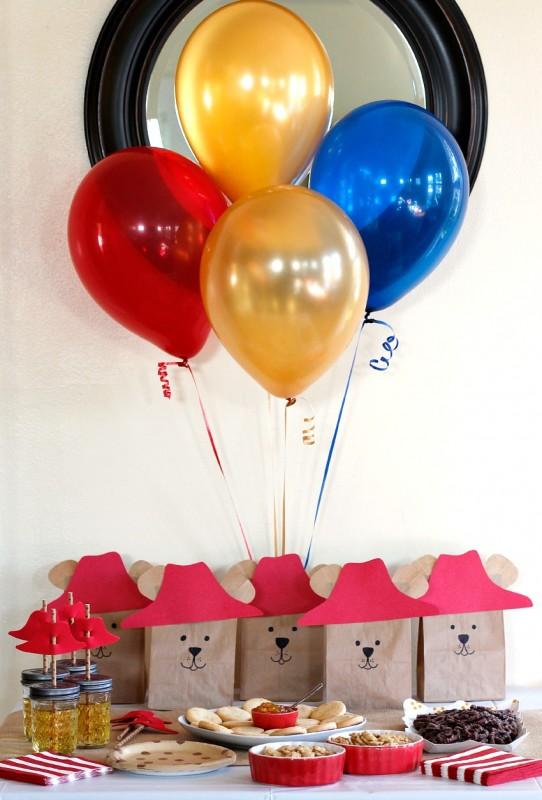 Paddington Bear Birthday Party